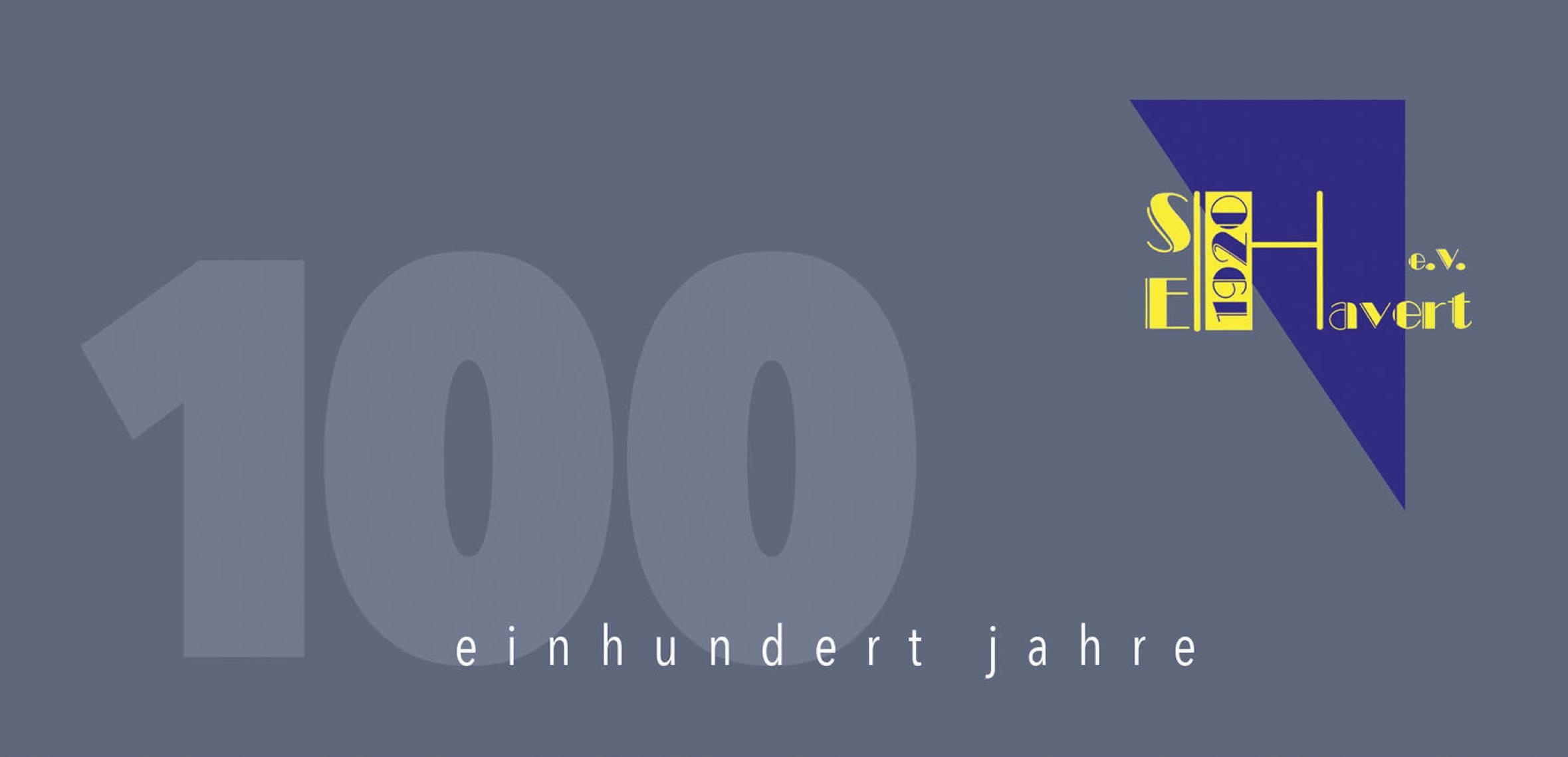 """100 Jahre """"Edelweiß"""" – Vereinschronik"""